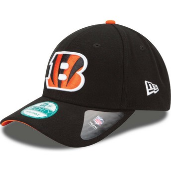 Casquette courbée noire ajustable 9FORTY The League Cincinnati Bengals NFL New Era