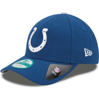 Casquette courbée bleue ajustable 9FORTY The League Indianapolis Colts NFL New Era