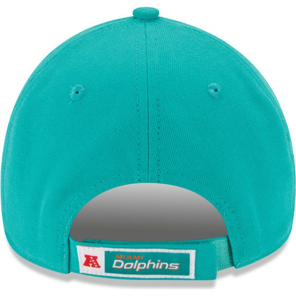 casquette-courbee-bleue-ajustable-9forty-team-miami-dolphins-nfl-new-era