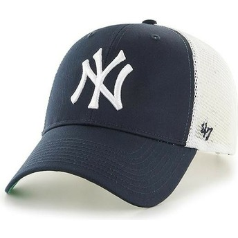 47 Brand Kinder New York Yankees MLB MVP Branson Trucker Cap marineblau