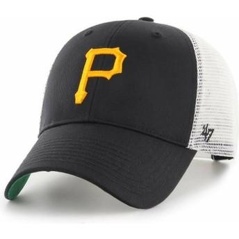 47 Brand Pittsburgh Pirates MLB MVP Branson Trucker Cap schwarz