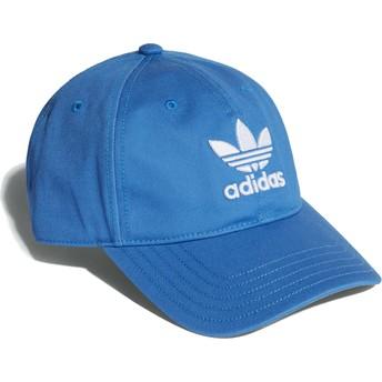 Adidas Curved Brim Trefoil Classic Blubir Adjustable Cap blau