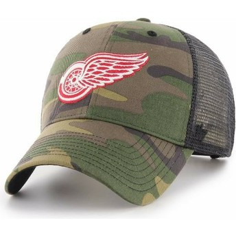 47 Brand Detroit Red Wings NHL MVP Branson Trucker Cap camo