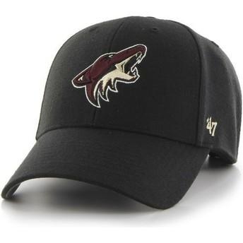 Casquette courbée noire Arizona Coyotes NHL MVP 47 Brand