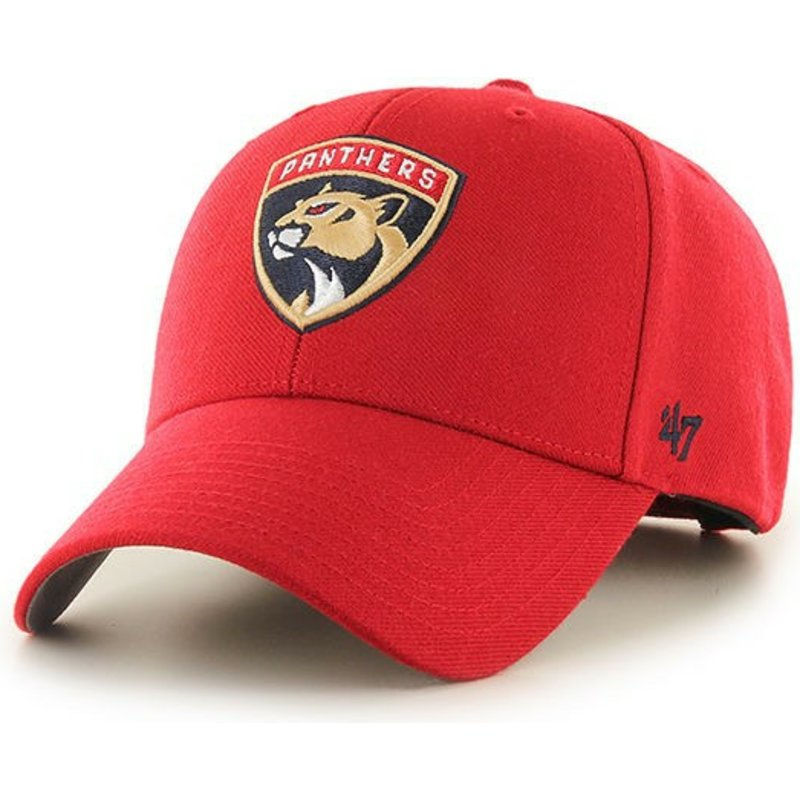 casquette-courbee-rouge-florida-panthers-nhl-mvp-47-brand