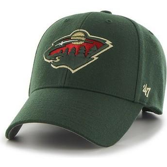 47 Brand Curved Brim Minnesota Wild NHL MVP Cap grün