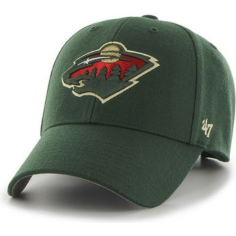 Casquette courbée verte Minnesota Wild NHL MVP 47 Brand