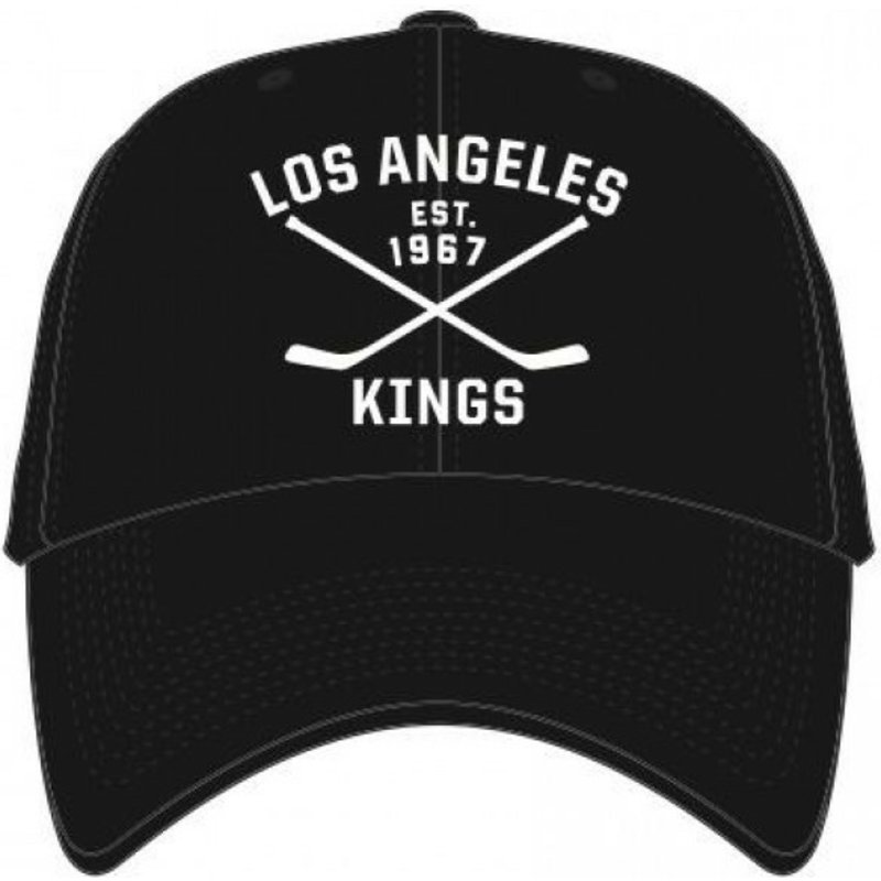 casquette-courbee-noire-los-angeles-kings-nhl-clean-up-axis-47-brand