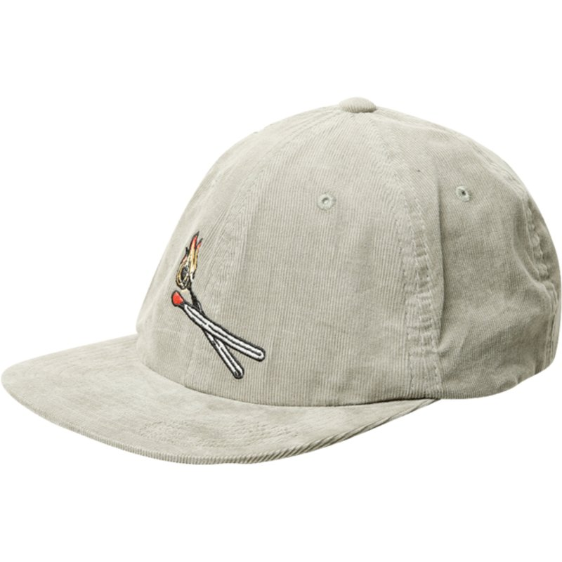 casquette-plate-verte-ajustable-majestic-dusty-green-volcom