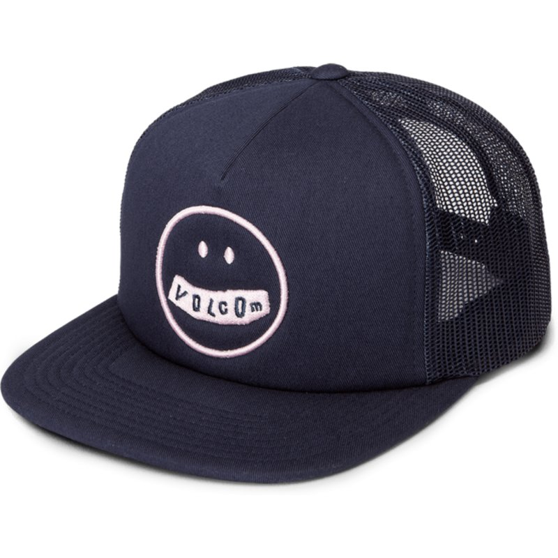 casquette-trucker-bleue-marine-stonar-waves-sea-navy-volcom
