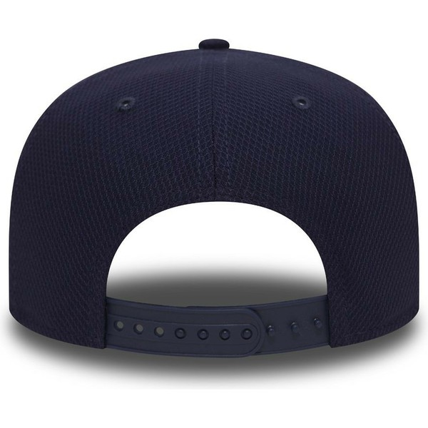 casquette-plate-bleue-marine-et-rouge-snapback-9fifty-diamond-era-essential-oakland-athletics-mlb-new-era