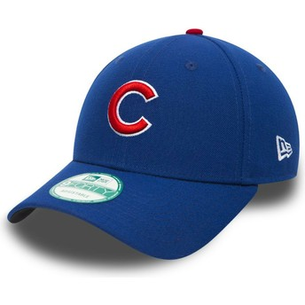Casquette courbée noire ajustable 9FORTY The League Chicago Cubs MLB New Era