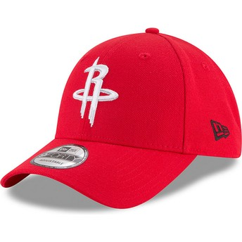 New Era Curved Brim 9FORTY The League Houston Rockets NBA Adjustable Cap verstellbar rot