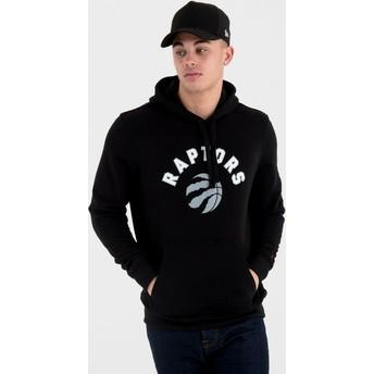 Sweat à capuche noir Pullover Hoody Toronto Raptors NBA New Era