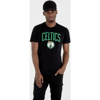 T-shirt à manche courte noir Boston Celtics NBA New Era