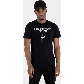 New Era San Antonio Spurs NBA T-Shirt schwarz