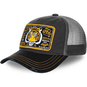 Von Dutch Tiger TRUCK13 Trucker Cap grau