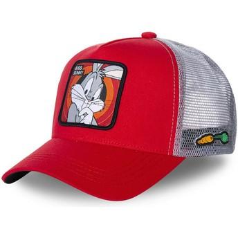 Capslab Bugs Bunny BUG1 Looney Tunes Trucker Cap rot