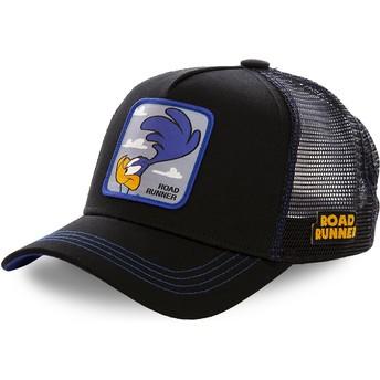 Capslab Road Runner ROA1 Looney Tunes Trucker Cap schwarz