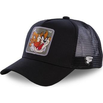 Cappellino trucker nero Diavolo di Tasmania TAZ3 Looney Tunes di Capslab
