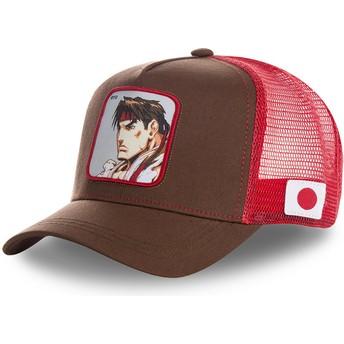 Capslab Ryu RYU Street Fighter Trucker Cap rot