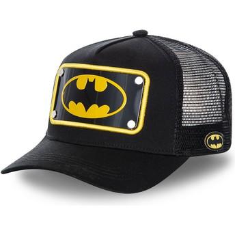 Capslab Batman Symbol Plate BATP5 DC Comics Trucker Cap schwarz
