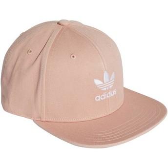 Adidas Flat Brim Trefoil Adicolor Snapback Cap pink
