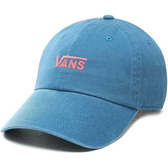 Vans Curved Brim Court Side Adjustable Cap blau