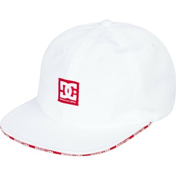 DC Shoes Flat Brim Sandwich Adjustable Cap weiß