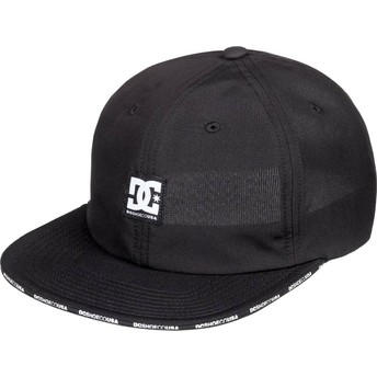 DC Shoes Flat Brim Sandwich Adjustable Cap schwarz