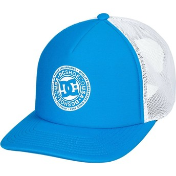 DC Shoes Vested Up Trucker Cap blau und weiß