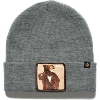 Goorin Bros. Lover Bear Beanie Mütze grau