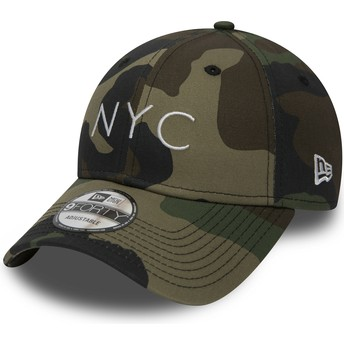 Casquette courbée camouflage ajustable 9FORTY Essential NYC New Era