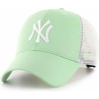 Casquette trucker verte claire MVP Flagship New York Yankees MLB 47 Brand