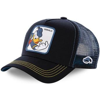 Casquette trucker noire Donald Fauntleroy Duck DON2 Disney Capslab