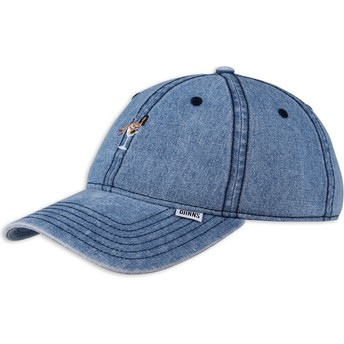 Casquette courbée bleue denim ajustable Coloured Girl Djinns