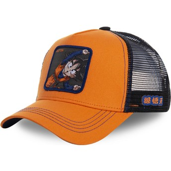Capslab Goten Fusion GTN1 Dragon Ball Trucker Cap orange