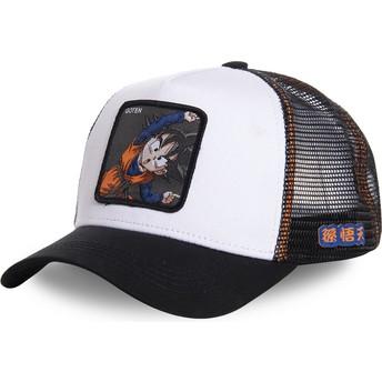 Capslab Goten Fusion GTN3 Dragon Ball Trucker Cap weiß