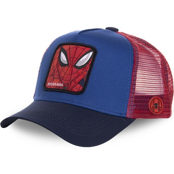 Capslab Spider-Man SPI1 Marvel Comics Trucker Cap blau und rot
