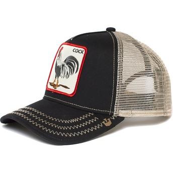 Goorin Bros. Rooster Trucker Cap schwarz