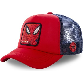 Casquette trucker rouge et bleue Spider-Man SPI4M Marvel Comics Capslab