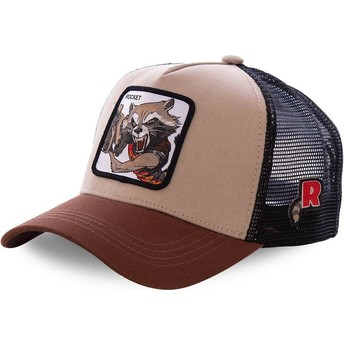 Casquette trucker marron Rocket Raccoon ROC1 Marvel Comics Capslab