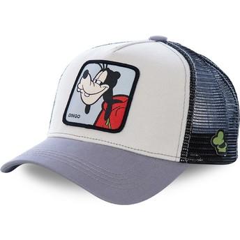 Capslab Goofy GOO1 Disney Trucker Cap grau und blau