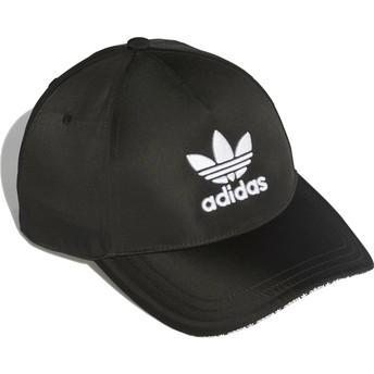 Adidas Curved Brim Trefoil Sandwich Adjustable Cap schwarz