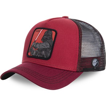 Casquette trucker rouge Darth Vader VAD Star Wars Capslab