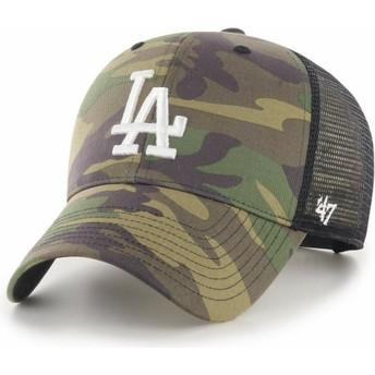 Casquette trucker camouflage avec logo blanc MVP Branson 2 Los Angeles Dodgers MLB 47 Brand