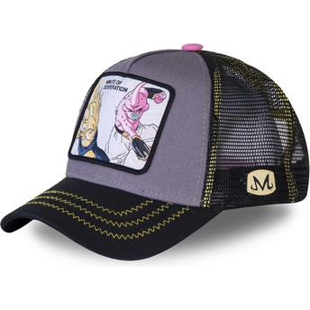Capslab Vegeta Vs Dämon Boo Minute of Desperation DES1 Dragon Ball Trucker Cap grau