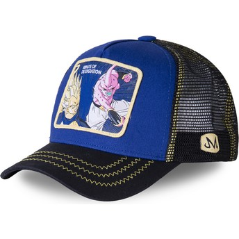 Capslab Vegeta Vs Dämon Boo Minute of Desperation DES2 Dragon Ball Trucker Cap blau