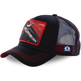 Casquette trucker noire X-wing starfighter LTD6 Star Wars Capslab