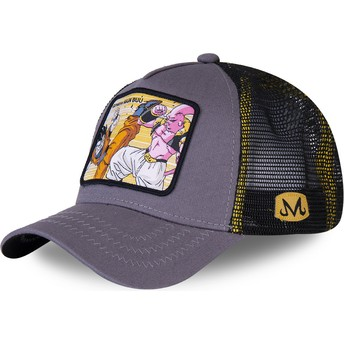 Capslab Gohan Vs Majin Buu WHO2 Dragon Ball Trucker Cap grau